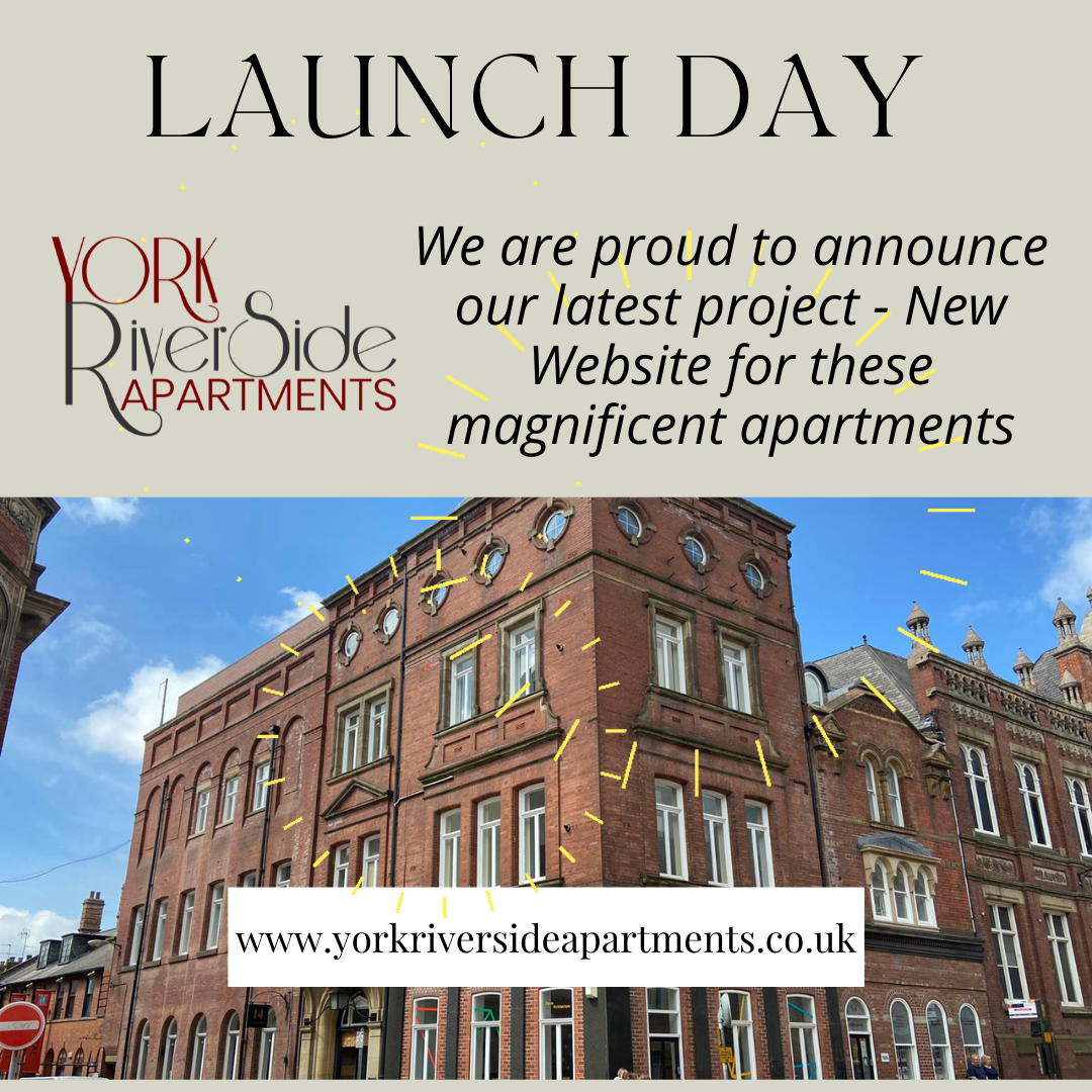Read more about the article Website Launch – York Riverside Apartments